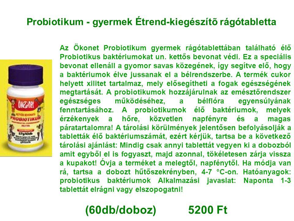 Probiotikum - gyermek Étrend-kiegészítõ rágótabletta
