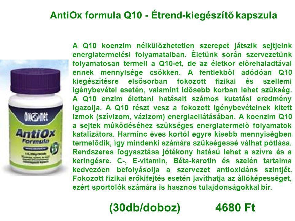 AntiOx formula Q10 - Étrend-kiegészítõ kapszula