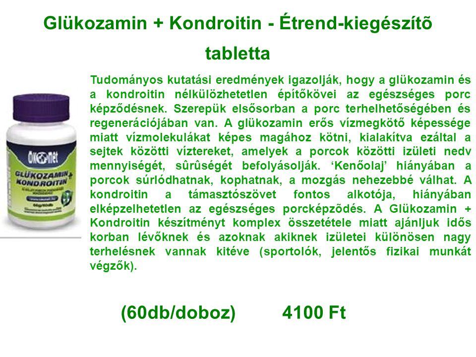 Glükozamin + Kondroitin - Étrend-kiegészítõ tabletta