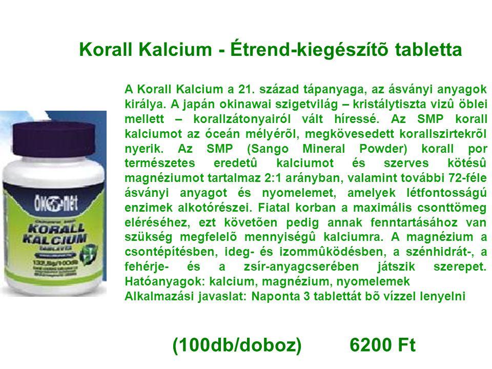Korall Kalcium - Étrend-kiegészítõ tabletta