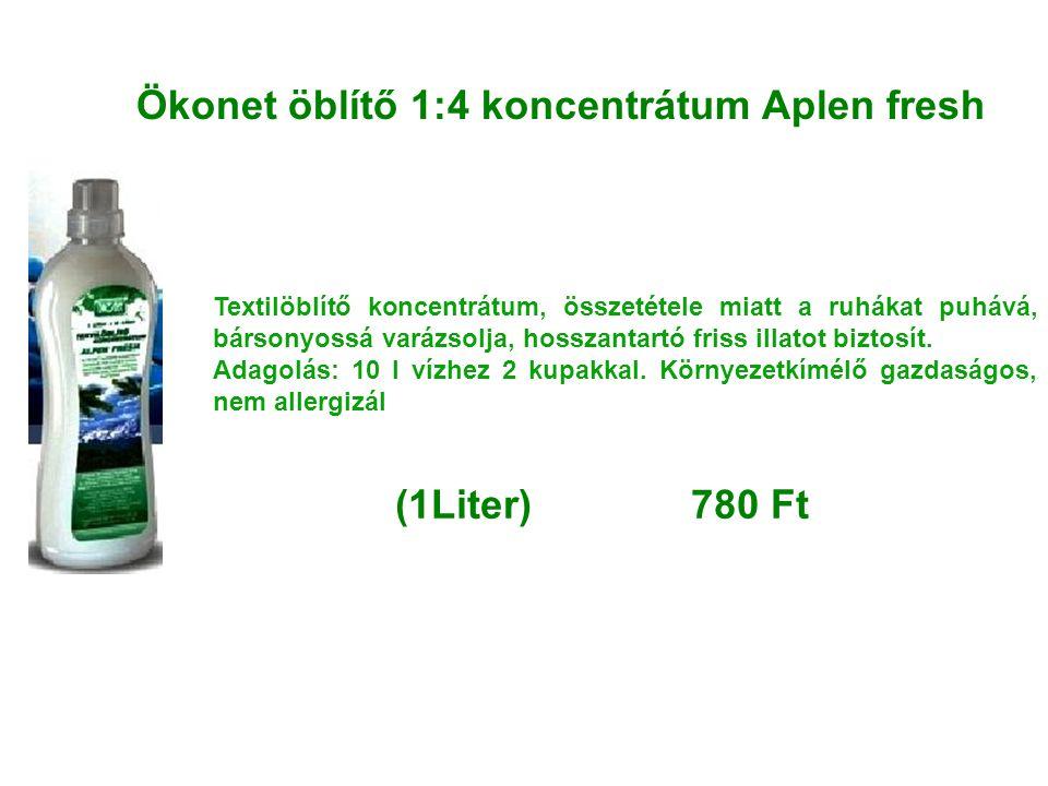 Ökonet öblítő 1:4 koncentrátum Aplen fresh