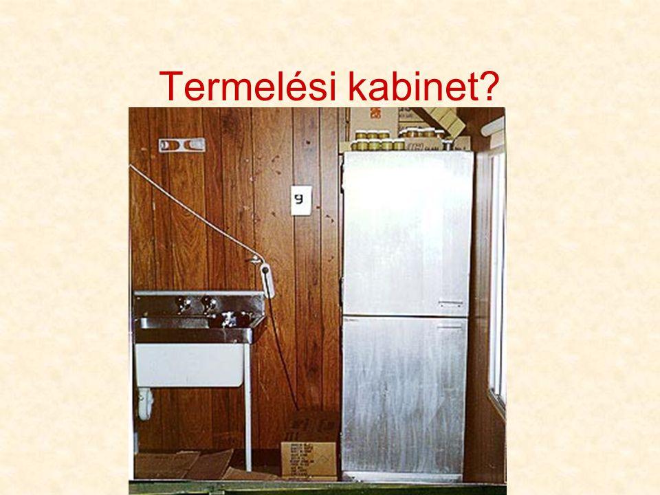 Termelési kabinet