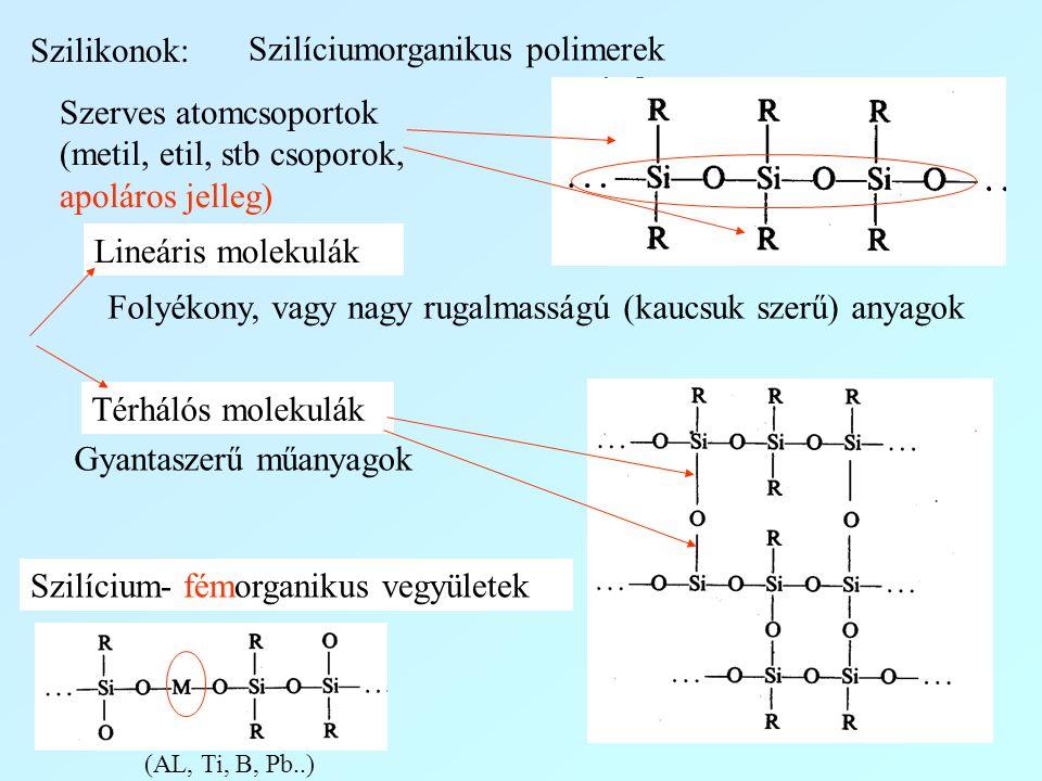 Szilíciumorganikus polimerek