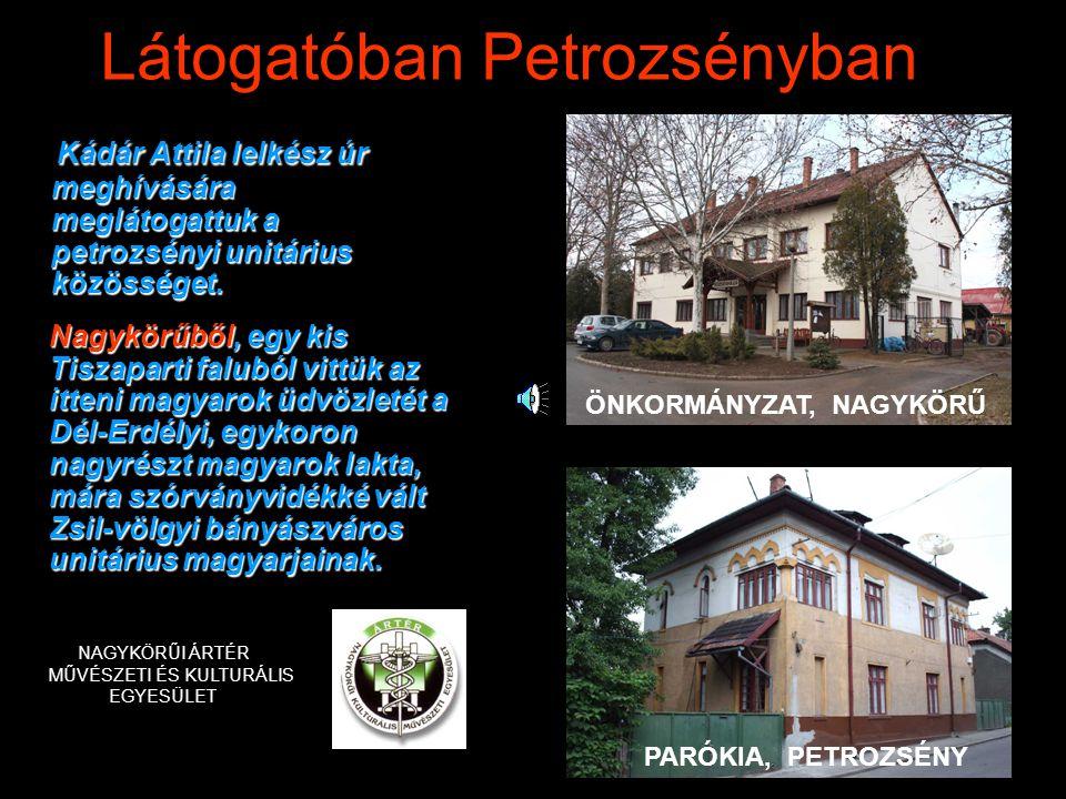 Látogatóban Petrozsényban