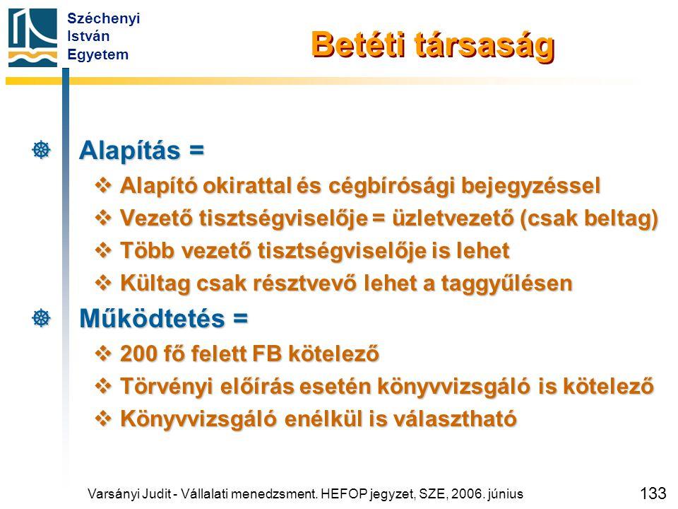 Közhasznú Társaság Kht. alapítása = Példák =