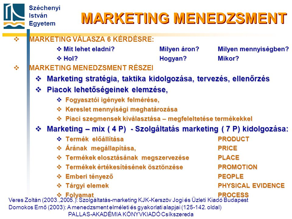 Főbb marketing források