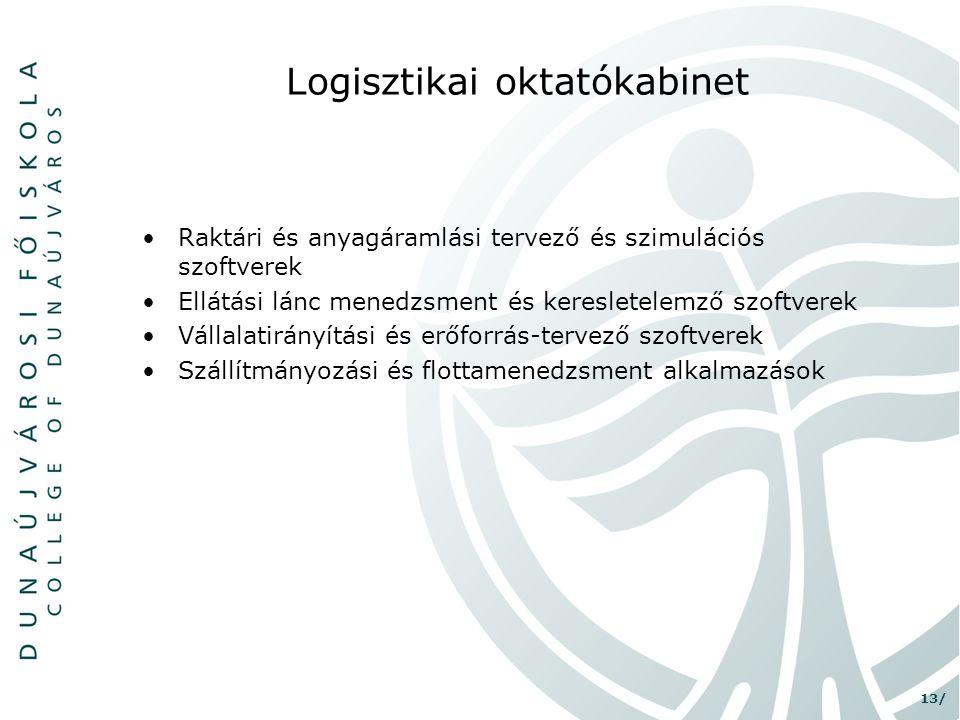 Logisztikai oktatókabinet
