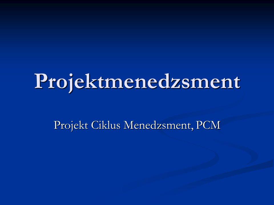 Projekt Ciklus Menedzsment, PCM