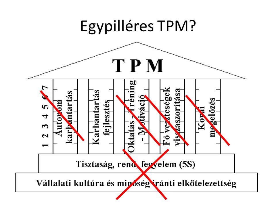 Egypilléres TPM