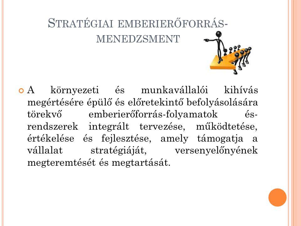 Stratégiai emberierőforrás-menedzsment