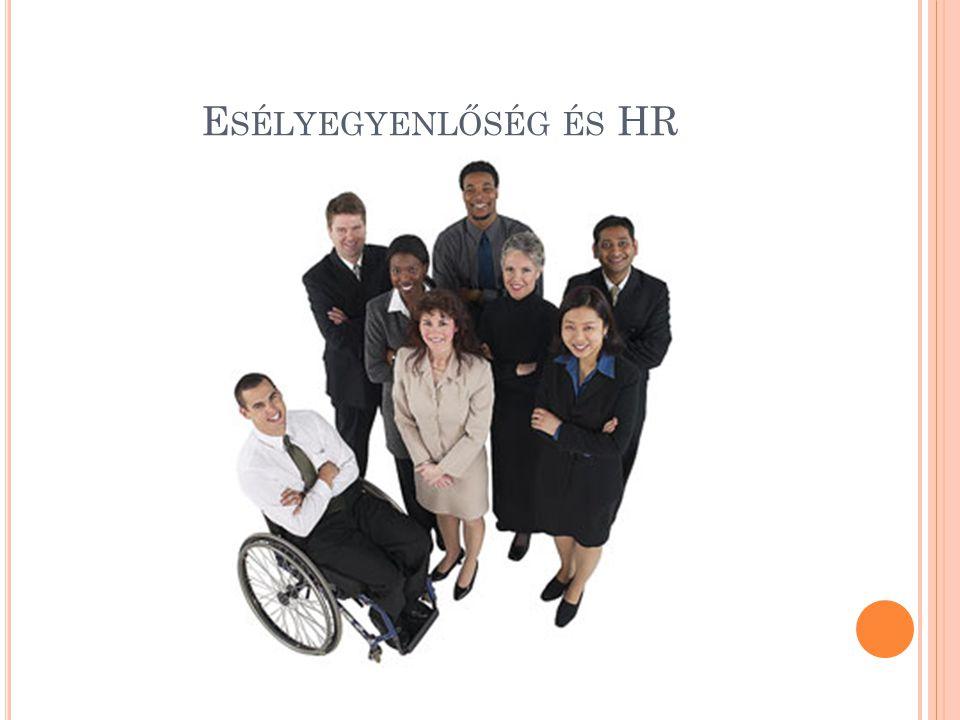Esélyegyenlőség és HR