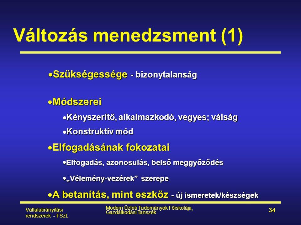 Változás menedzsment (1)