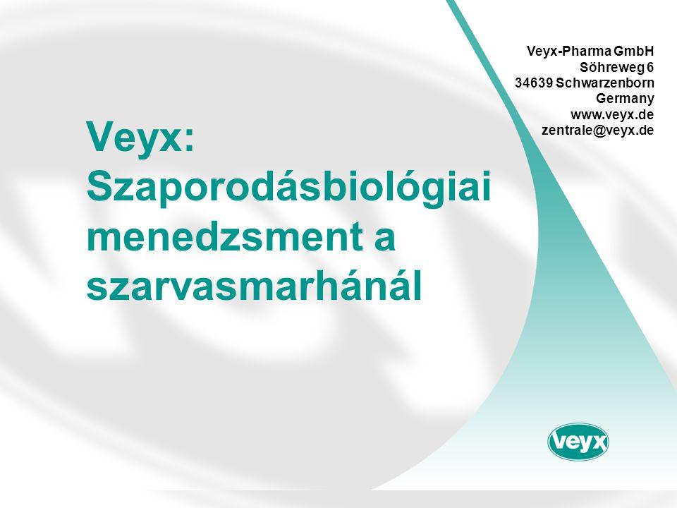Veyx: Szaporodásbiológiai menedzsment a szarvasmarhánál