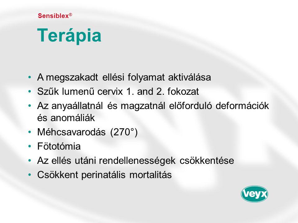 Terápia A megszakadt ellési folyamat aktiválása