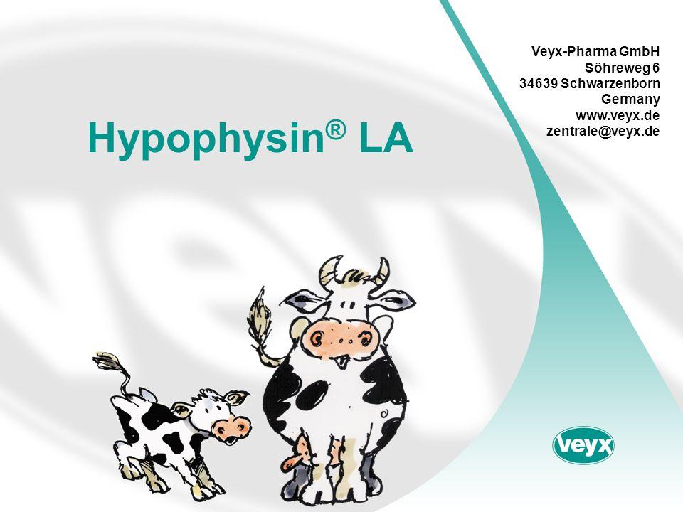 Hypophysin® LA Veyx-Pharma GmbH Söhreweg 6 34639 Schwarzenborn Germany