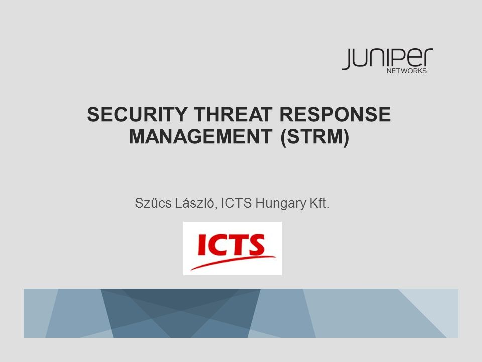Security Threat Response Management (STRM)