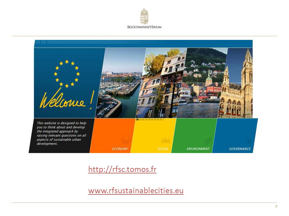 http://rfsc.tomos.fr www.rfsustainablecities.eu