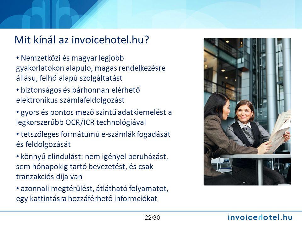 Mit kínál az invoicehotel.hu