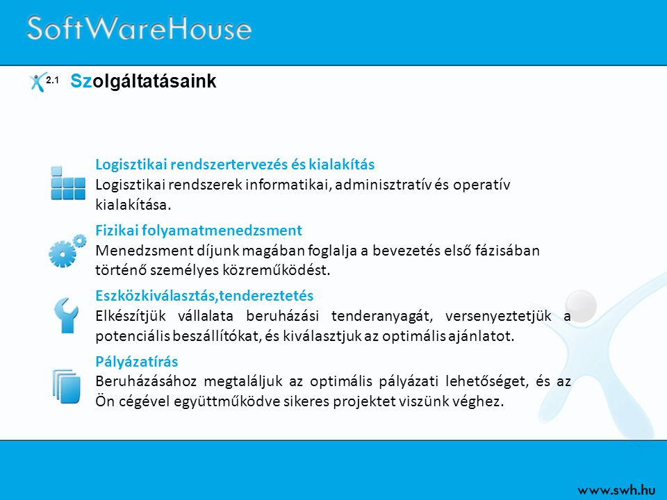 Logisztikai rendszertervezés és kialakítás