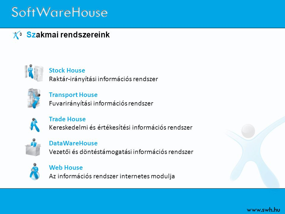 Stock House Raktár-irányítási információs rendszer