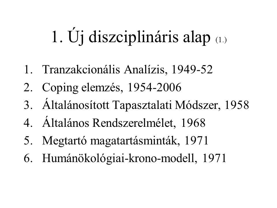 1. Új diszciplináris alap (1.)