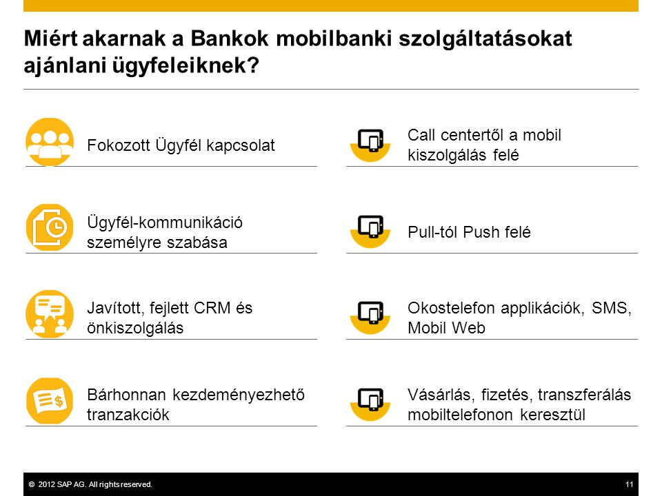 Miért akarnak a Bankok mobilbanki szolgáltatásokat ajánlani ügyfeleiknek