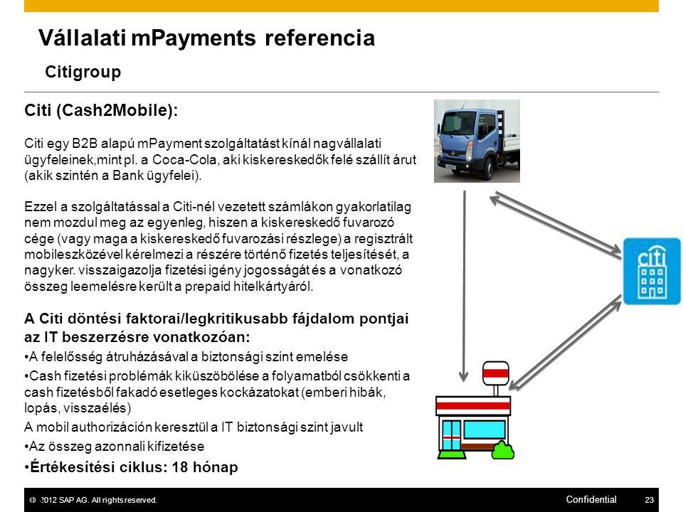Vállalati mPayments referencia