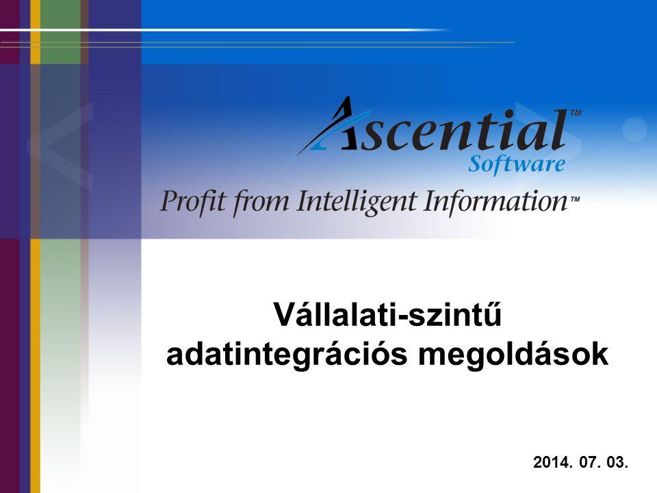 Vállalati-szintű adatintegrációs megoldások