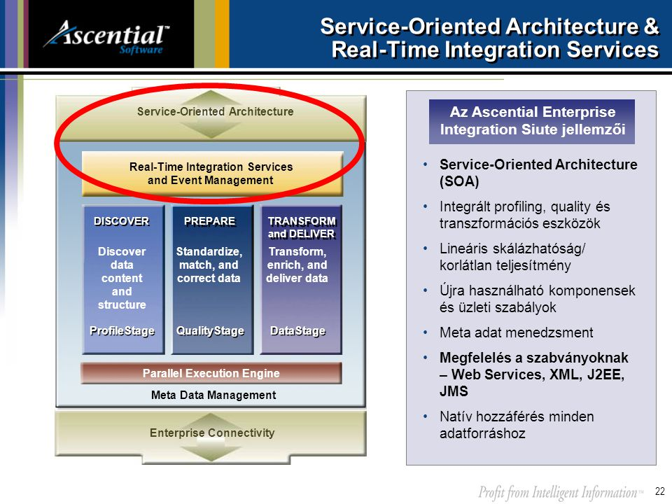 Service-Oriented Architecture & Real-Time Integration Services