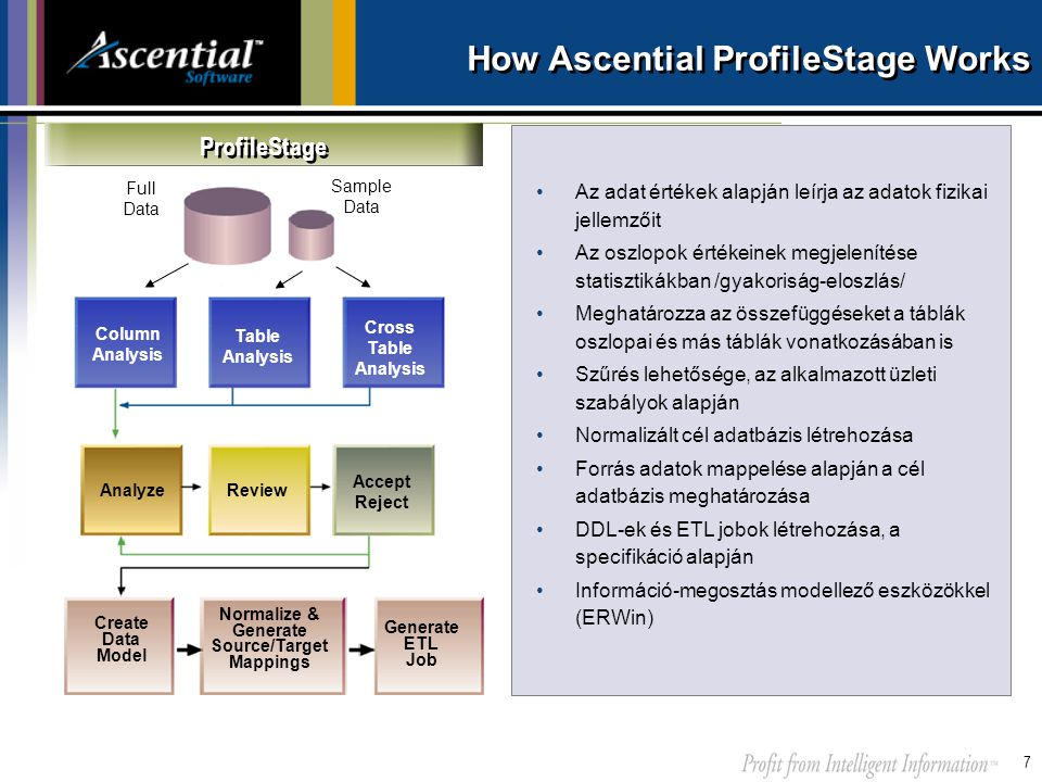 How Ascential ProfileStage Works
