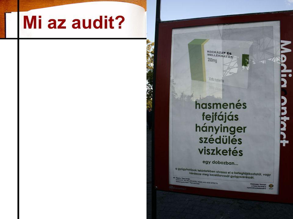 Mi az audit