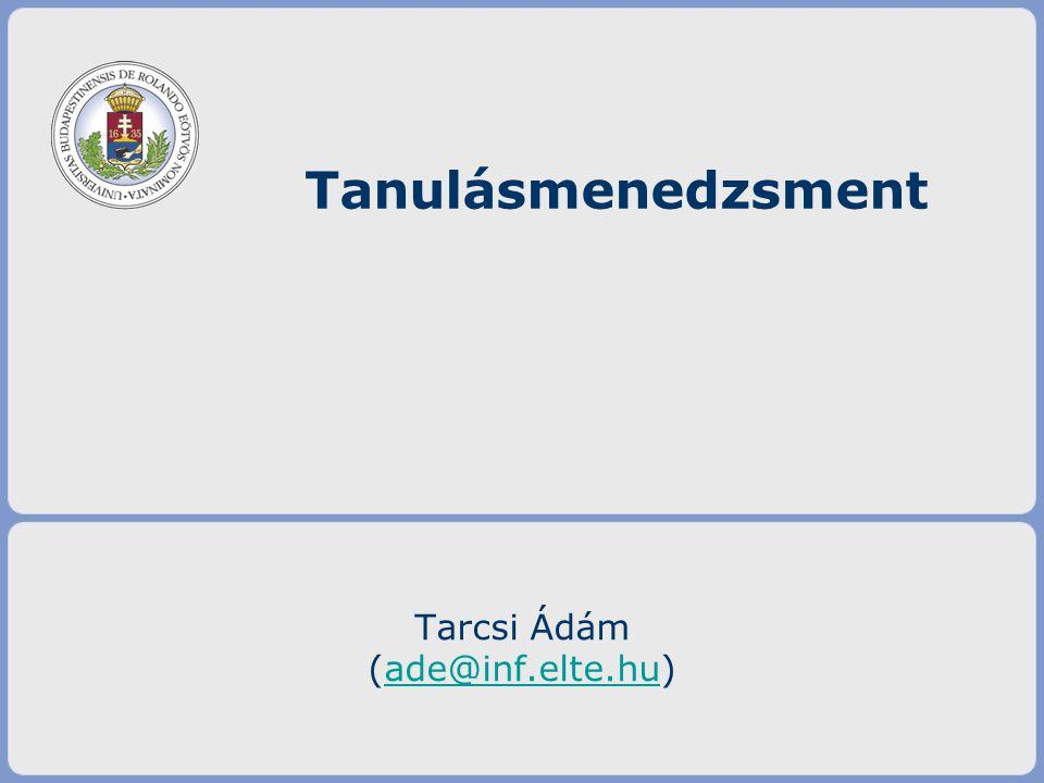 Tarcsi Ádám (ade@inf.elte.hu)
