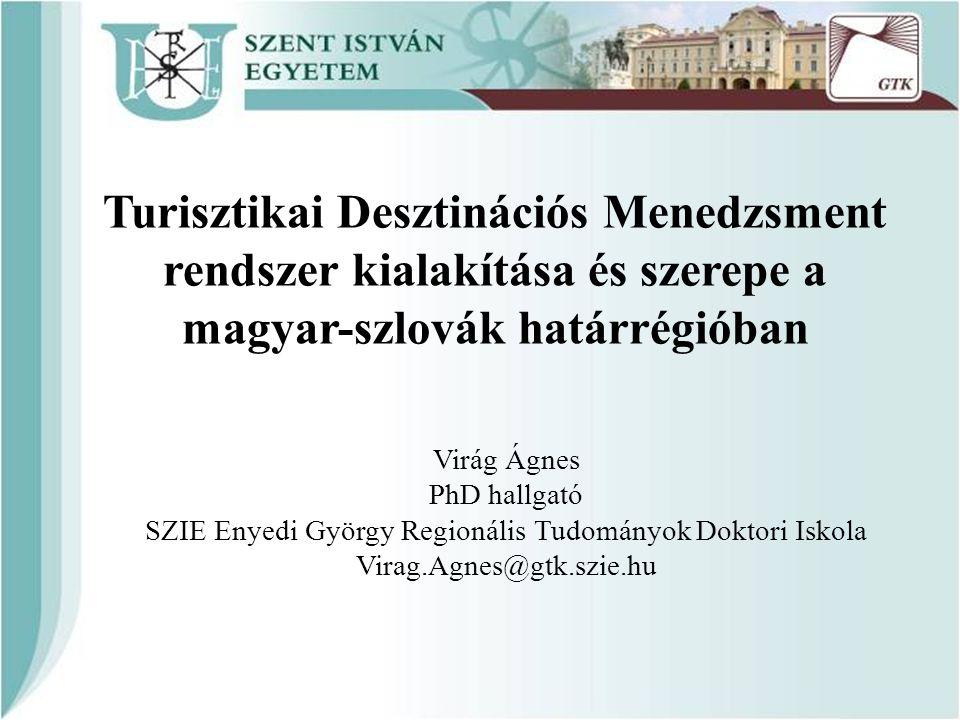 SZIE Enyedi György Regionális Tudományok Doktori Iskola