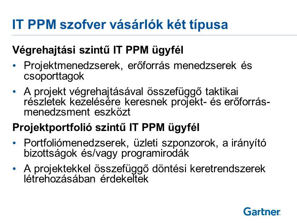 IT PPM szoftverek és agilis módszertanok