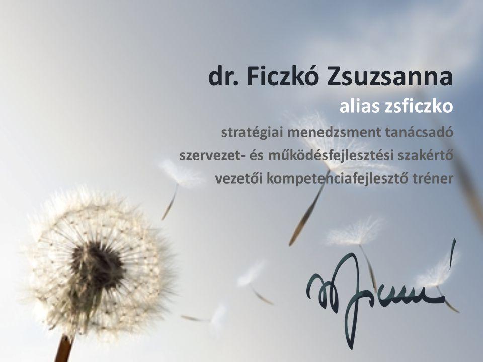 dr. Ficzkó Zsuzsanna alias zsficzko stratégiai menedzsment tanácsadó