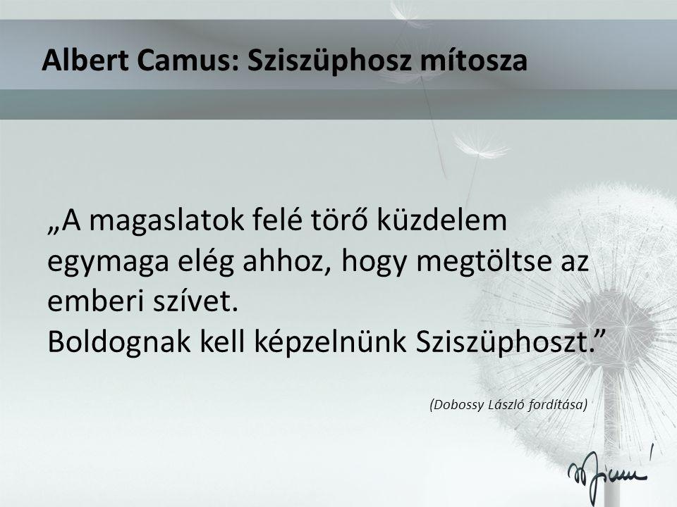 Albert Camus: Sziszüphosz mítosza