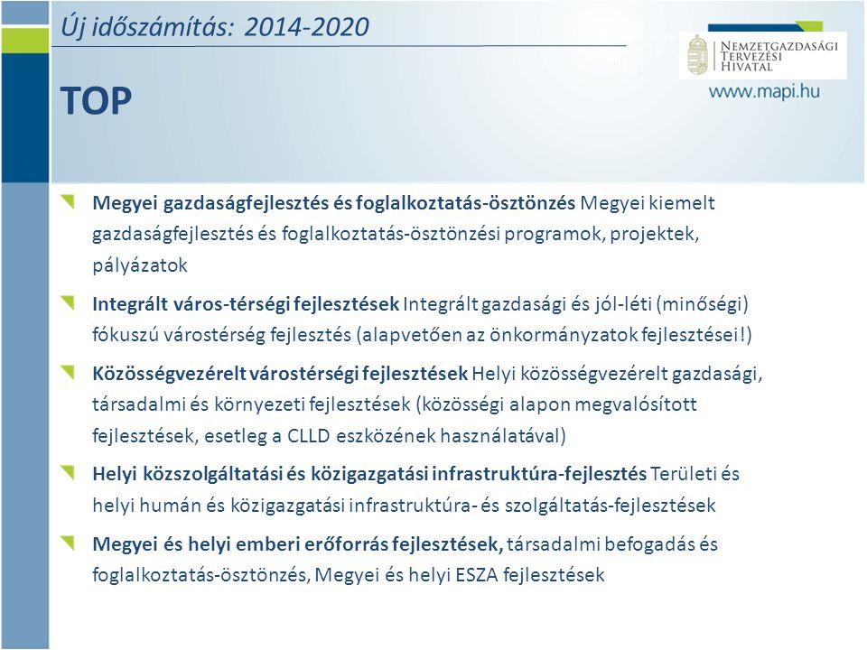 Új időszámítás: 2014-2020 TOP.