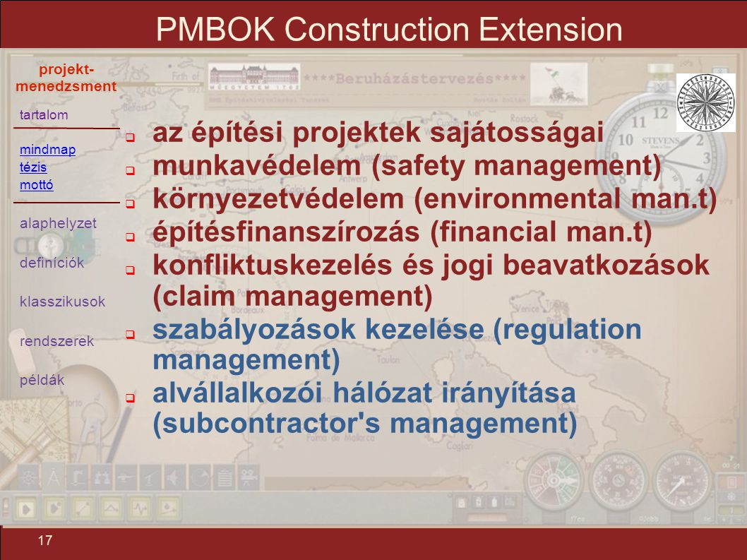 PMBOK Construction Extension
