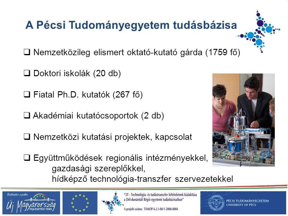 A Pécsi Tudományegyetem tudásbázisa