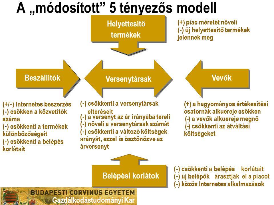 """A """"módosított 5 tényezős modell"""