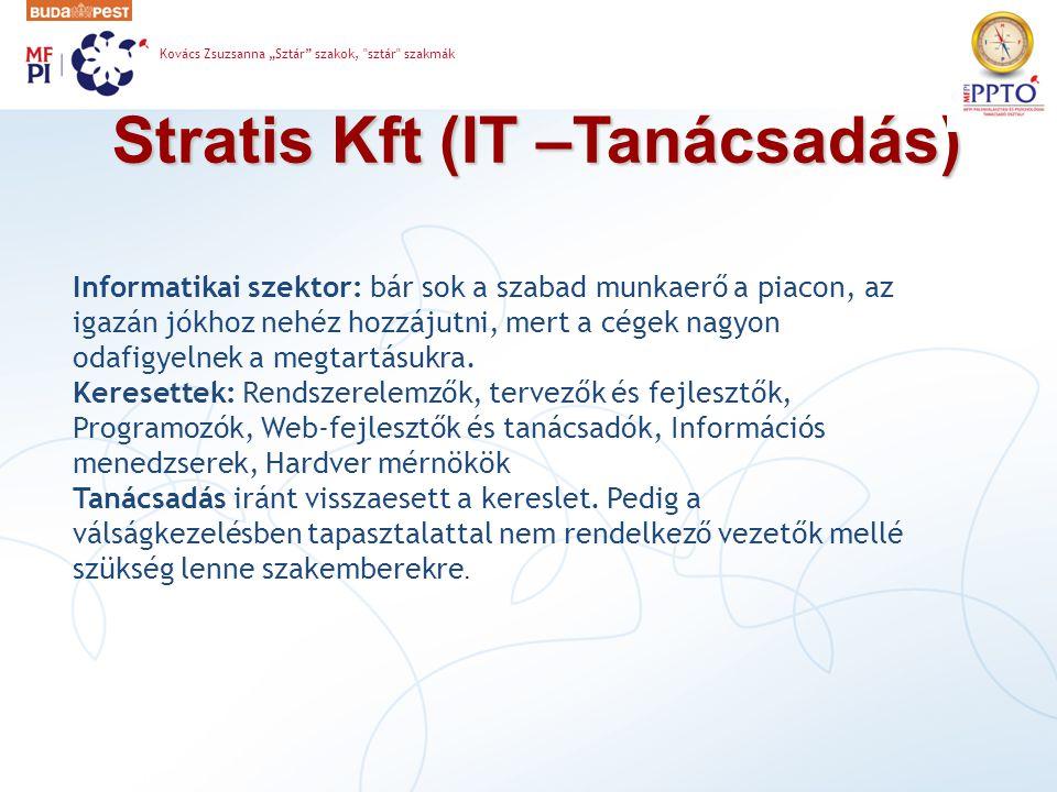 Stratis Kft (IT –Tanácsadás)