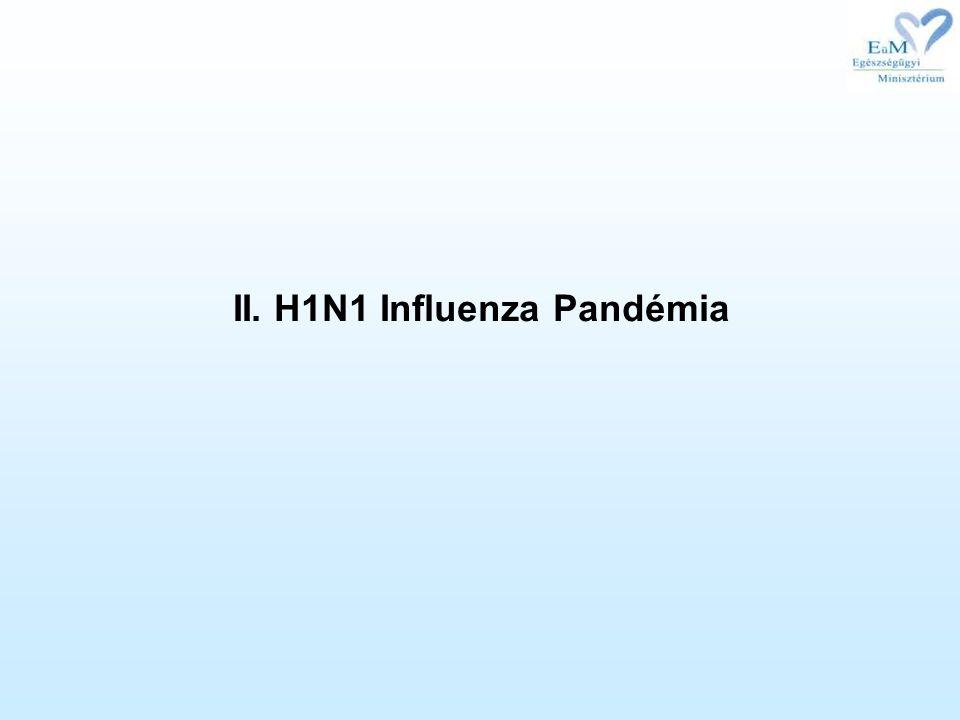 II. H1N1 Influenza Pandémia
