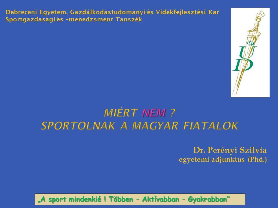 Miért nem sportolnak a magyar fiatalok