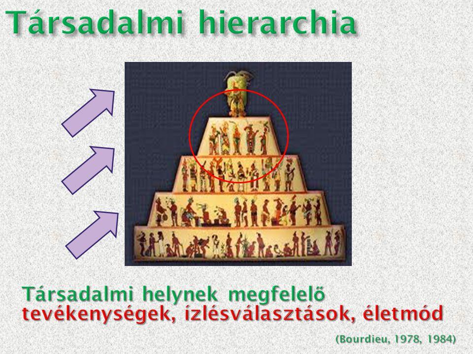 Társadalmi hierarchia