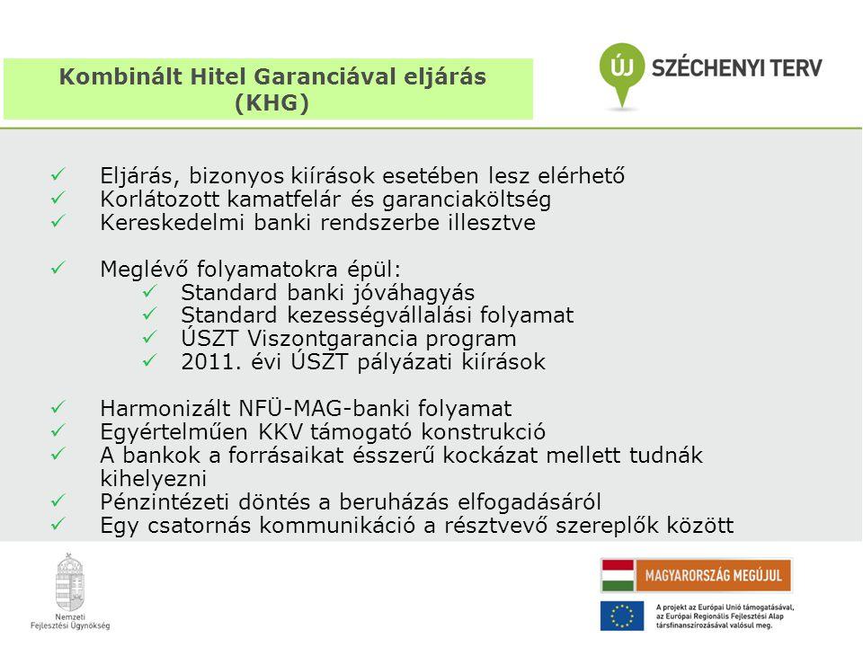 Kombinált Hitel Garanciával eljárás (KHG)