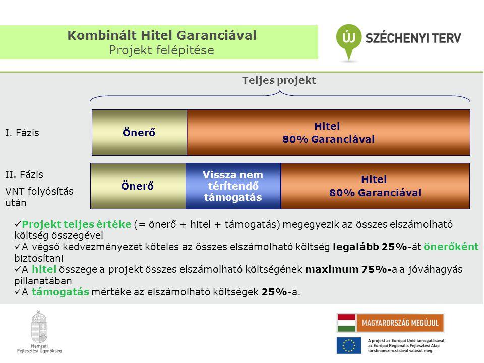 Kombinált Hitel Garanciával Projekt felépítése