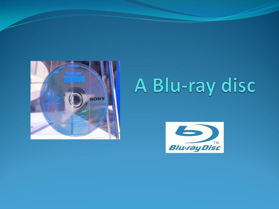 A Blu-ray disc