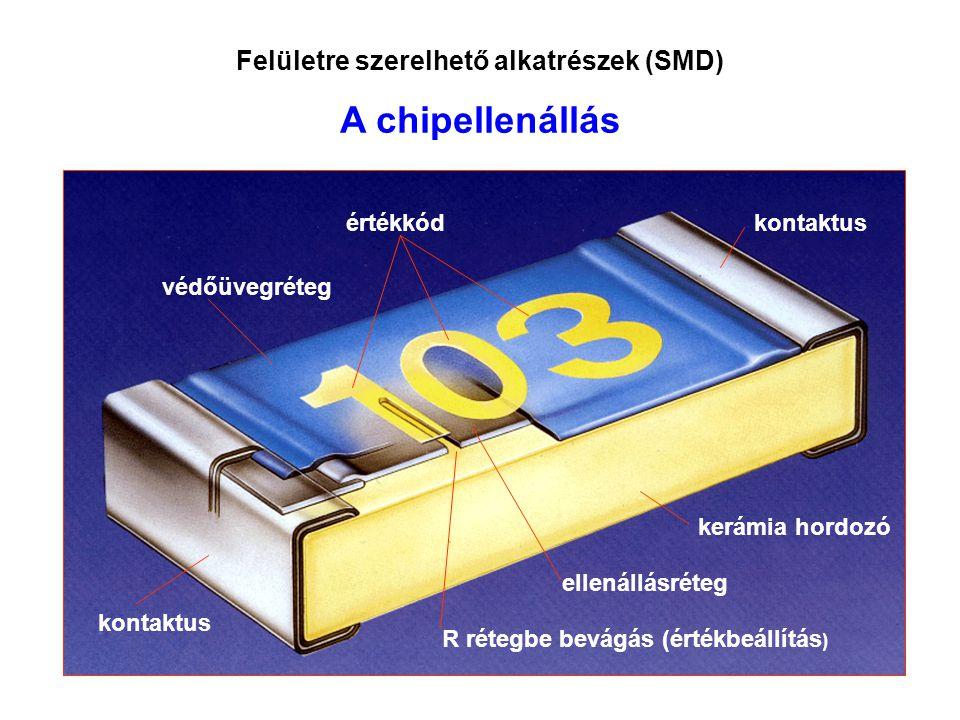 Felületre szerelhető alkatrészek (SMD)