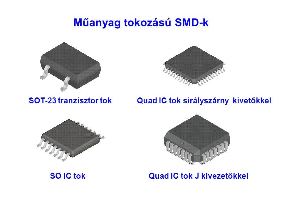 Műanyag tokozású SMD-k