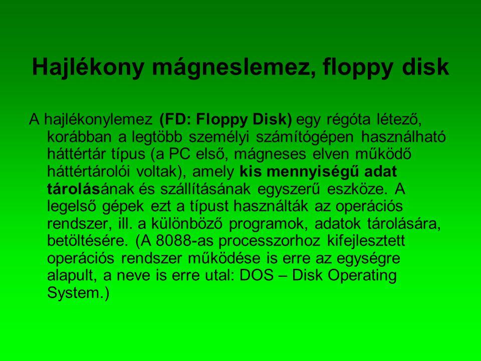 Hajlékony mágneslemez, floppy disk